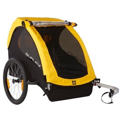 Burley Bee® Kids' Bike Trailer - Yellow