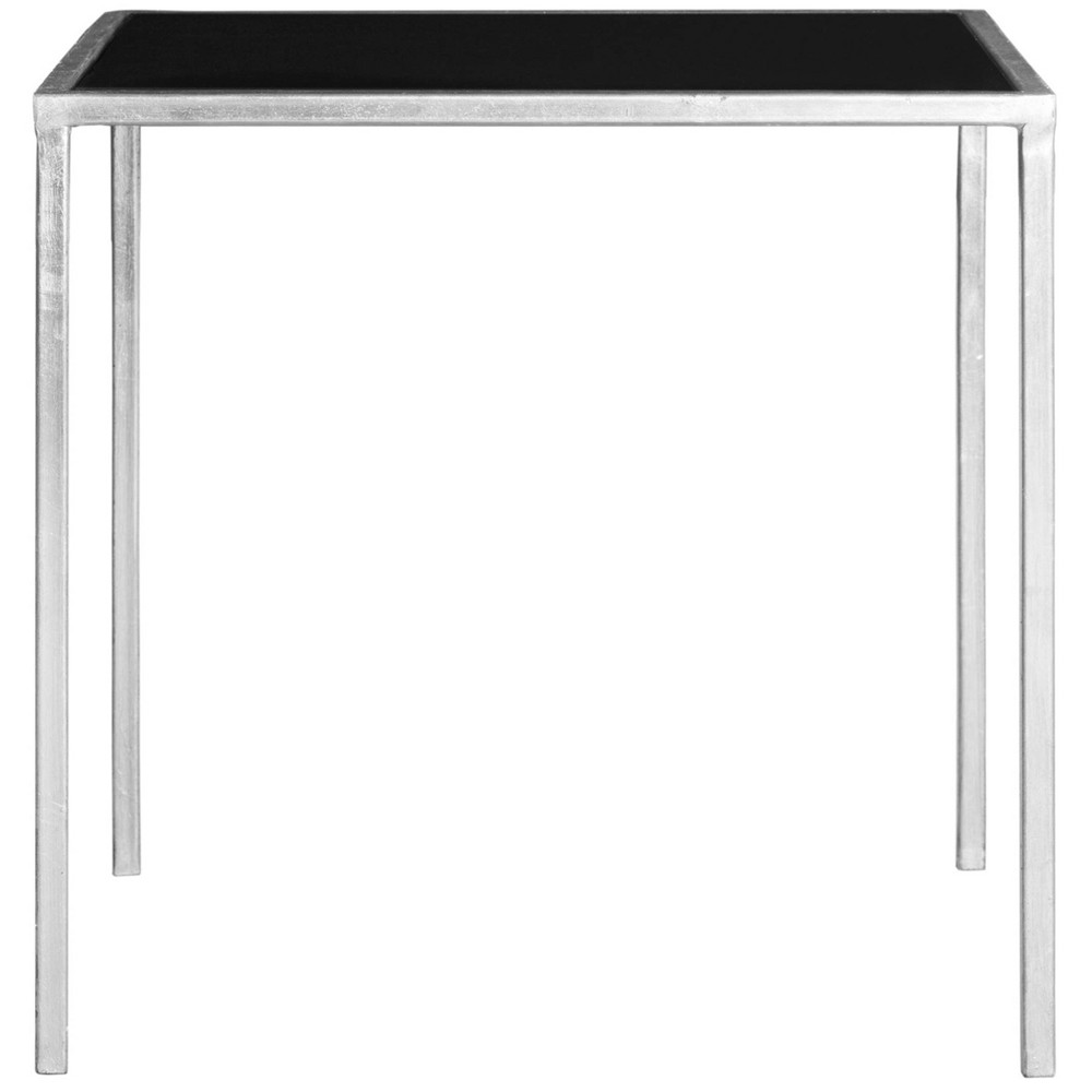 Kiley End Table Silver/Black - Safavieh