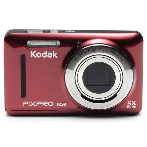 KODAK PIXPRO FZ53 Friendly Zoom Digital Point & Shoot Camera, Red - image 1 of 4