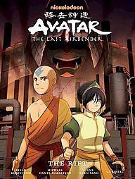 Avatar: The Last Airbender : The Rift (Hardcover)(Gene Luen Yang)
