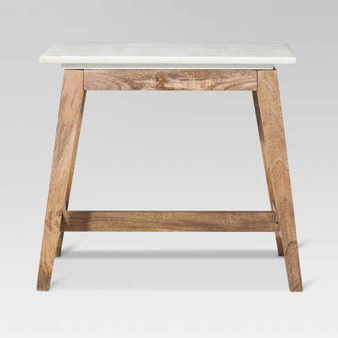 Lanham Accent Table With Marble Top Threshold Target