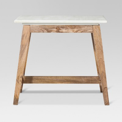 Superbe Lanham Accent Table With Marble Top   Threshold™