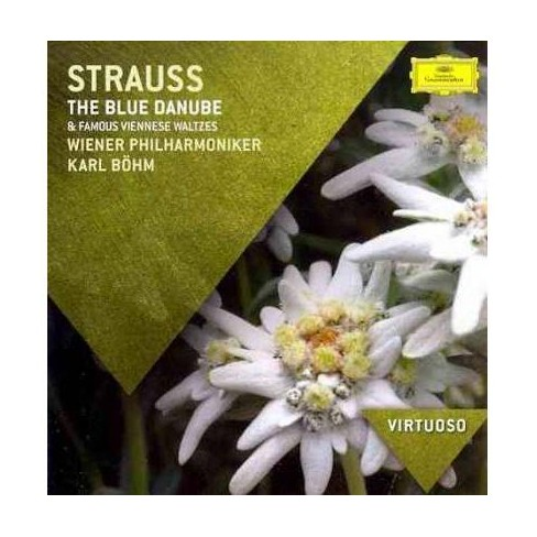 Karl Bohm - Virtuoso: Strauss- The Blue Danube & Famous Viennese Waltzes (CD) - image 1 of 1