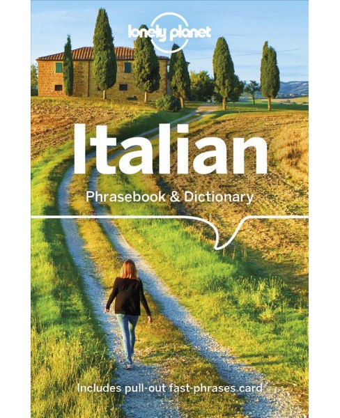 Lonely Planet Italian Phrasebook & Dictionary -  8 (Paperback) - image 1 of 1