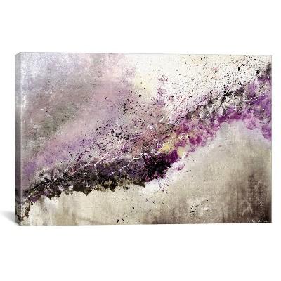 26 x40  Hush by Vinn Wong Unframed Wall Canvas Print Purple - iCanvas