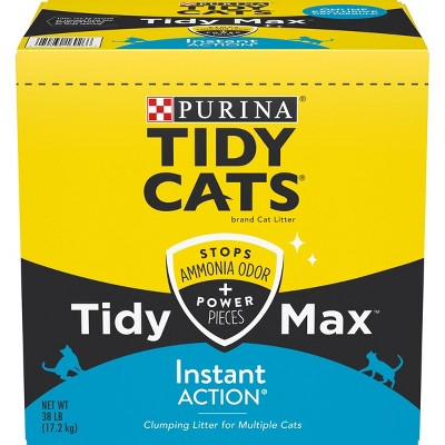 Tidy Cats Max Instant Action Clumping - 38lb