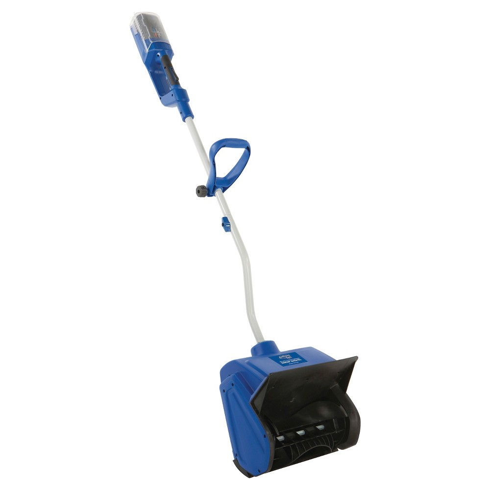Snow Joe 13 Inch Ion 40V Cordless Brushless Snow Shovel with Rechargeable Battery, Blue