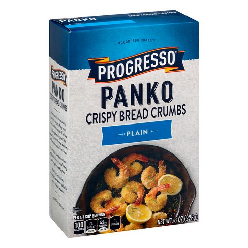 Progresso Panko Crispy Bread Crumbs Plain - 8oz - image 1 of 3