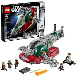 LEGO Star Wars Slave l - 20th Anniversary Collector Edition Collectible Model 75243 Building Kit