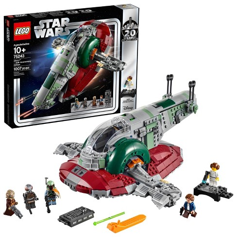 Lego Star Wars Slave L 20th Anniversary Collector Edition Collectible Model Building Kit 75243 Target