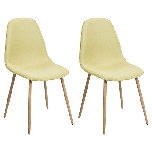 Porter Mid Century Modern Dining Chairs - Green (Set of 2) - image 1 of 8