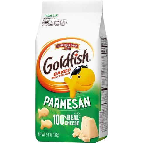 Pepperidge Farm Goldfish Parmesan Crackers - 6.6oz Bag - image 1 of 4