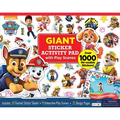 PAW Patrol Giant Sticker Activity Pad