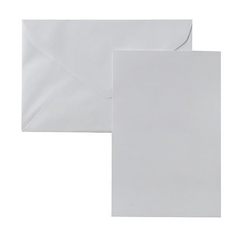 Blank Note Cards with Envelopes (50 coun - image 1 of 1