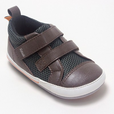 Baby Boys' Ro+Me by Robeez Dinosaur Casual Shoes - Colors Vary 6-12M