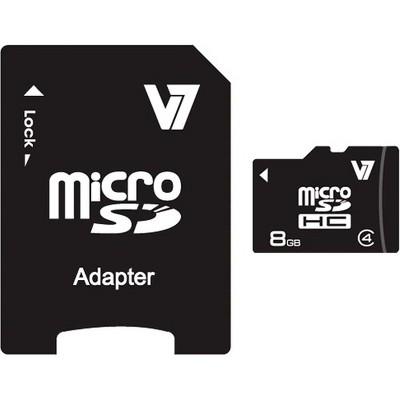 V7 microSDHC - 10 MB/s Read - 4 MB/s Write