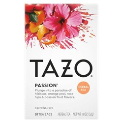Tazo Passion Herbal Tea - 20ct