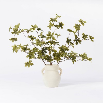 "5.5"" x 3"" Artificial Branch Plant Arrangement in Ceramic Pot - Threshold™ designed with Studio McGee"