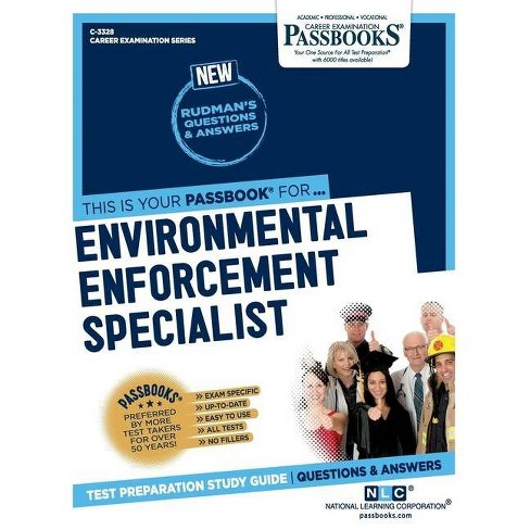 Environmental Enforcement Specialist - by  National Learning Corporation (Paperback) - image 1 of 1