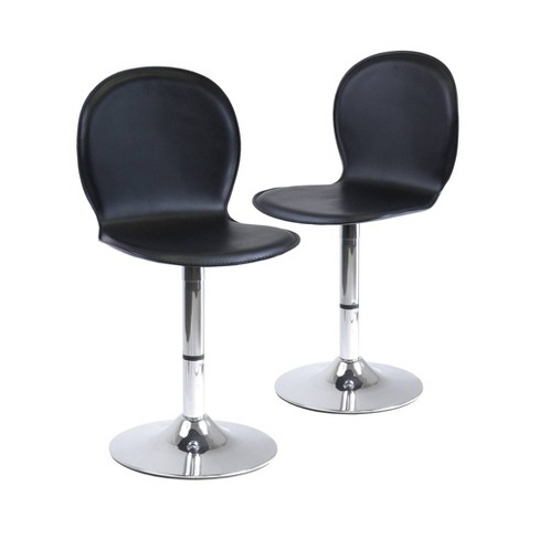 2pc Accent Chairs Winsome Black - image 1 of 3