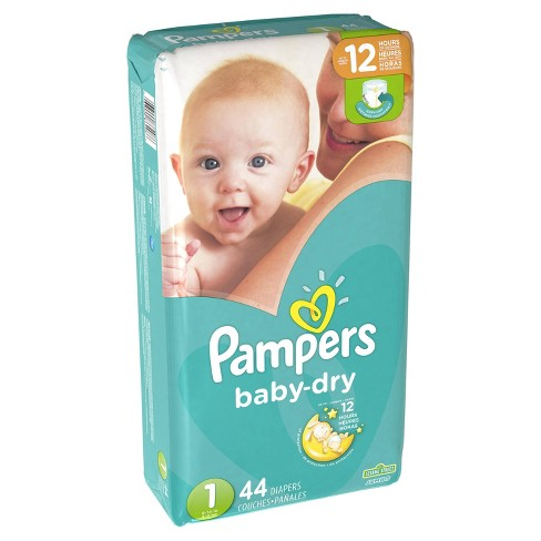 Pampers Baby Dry Nappy Pants Carry Pack Size 6 19pk Wilko