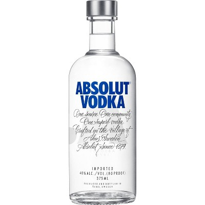 Absolut Vodka - 375ml Bottle