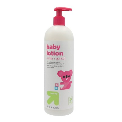 Baby Lotion with Vanilla & Apricot - 20 fl oz - Up&Up™