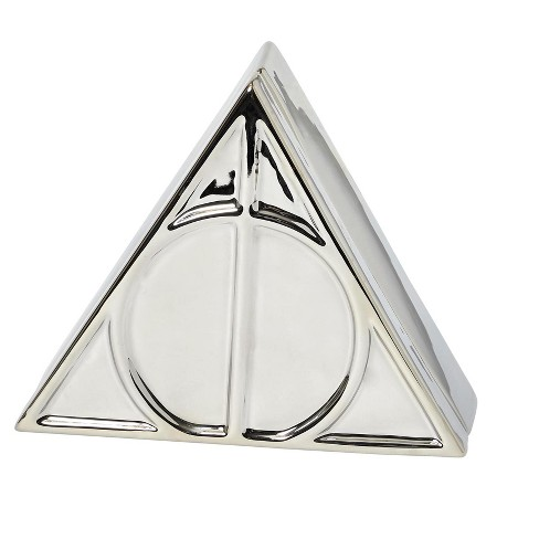 Seven20 Harry Potter Deathly Hallows Symbol Silver Storage Box | 7.5 x 6.5 Inches - image 1 of 4