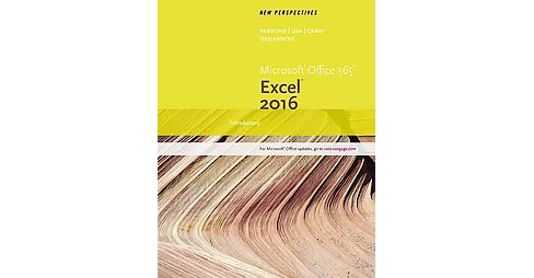 New Perspectives Microsoft Office 365 & Excel 2016 : Introductory (Paperback) (June Jamrich Parsons & - image 1 of 1