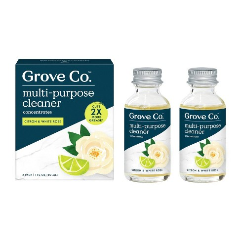 Grove Co. Multi-Purpose Cleaner Concentrates - Citron & White Rose - 2pk - image 1 of 4