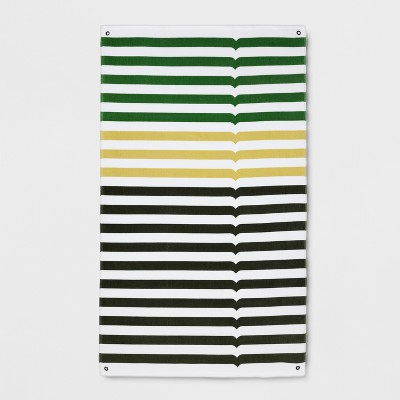 Hunter for Target Striped Beach Towel - Green