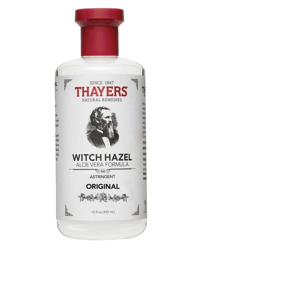 Thayers Witch Hazel Astringent with Aloe Vera Original - 12 oz