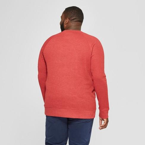 men s big tall regular fit long sleeve waffle thermal t shirt