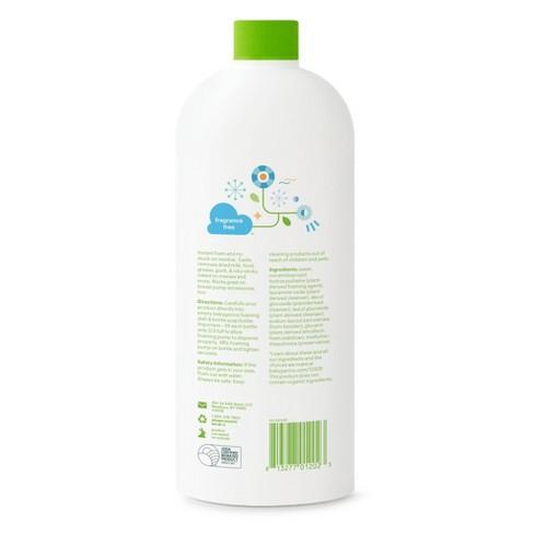 Babyganics Dish & Bottle Soap Refill, Fragrance Free - 32oz