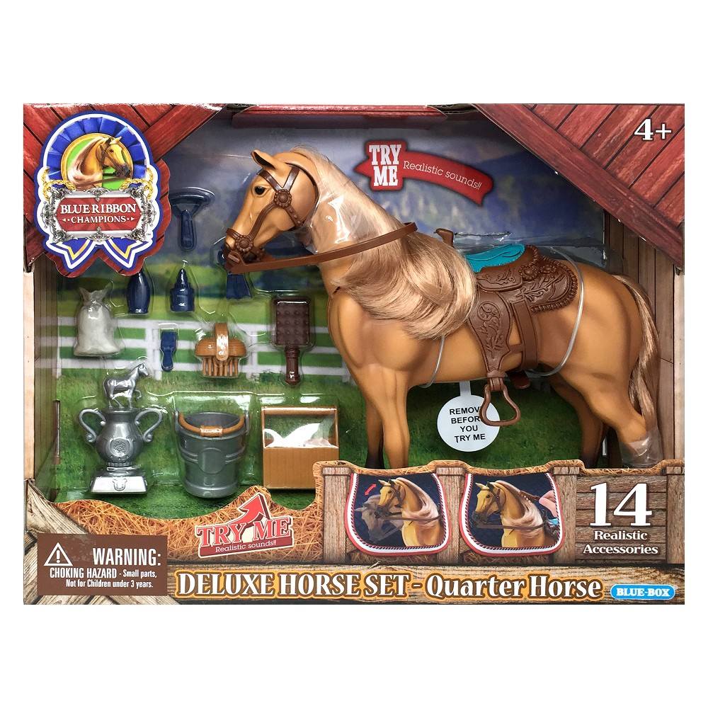 Blue Ribbon Champions Deluxe Quarter Horse