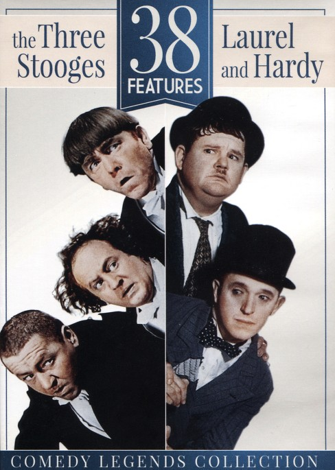 38 features:Three stooges & laurel (DVD) - image 1 of 1