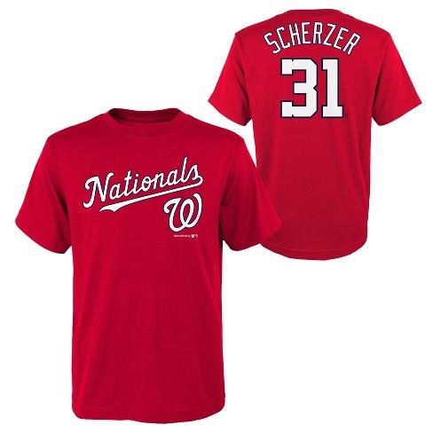 half off 80e84 621ff MLB Washington Nationals Youth Name & Number T-Shirt