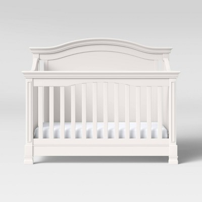 Million Dollar Baby Classic Louis 4-In-1 Convertible Crib With Toddler Bed Conversion Kit - Warm White