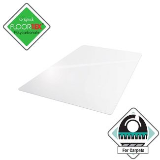 "48""x53"" Rectangular Ulti Mat For Plush Pile Carpets - Cleartex"