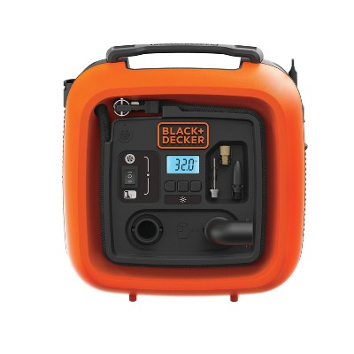 BLACK+DECKER Air Station Inflator and Air Compressor