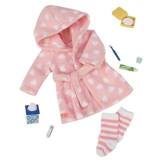 "Our Generation Sleepwear Robe Set for 18"" Dolls - Good Night, Sleep Tight"