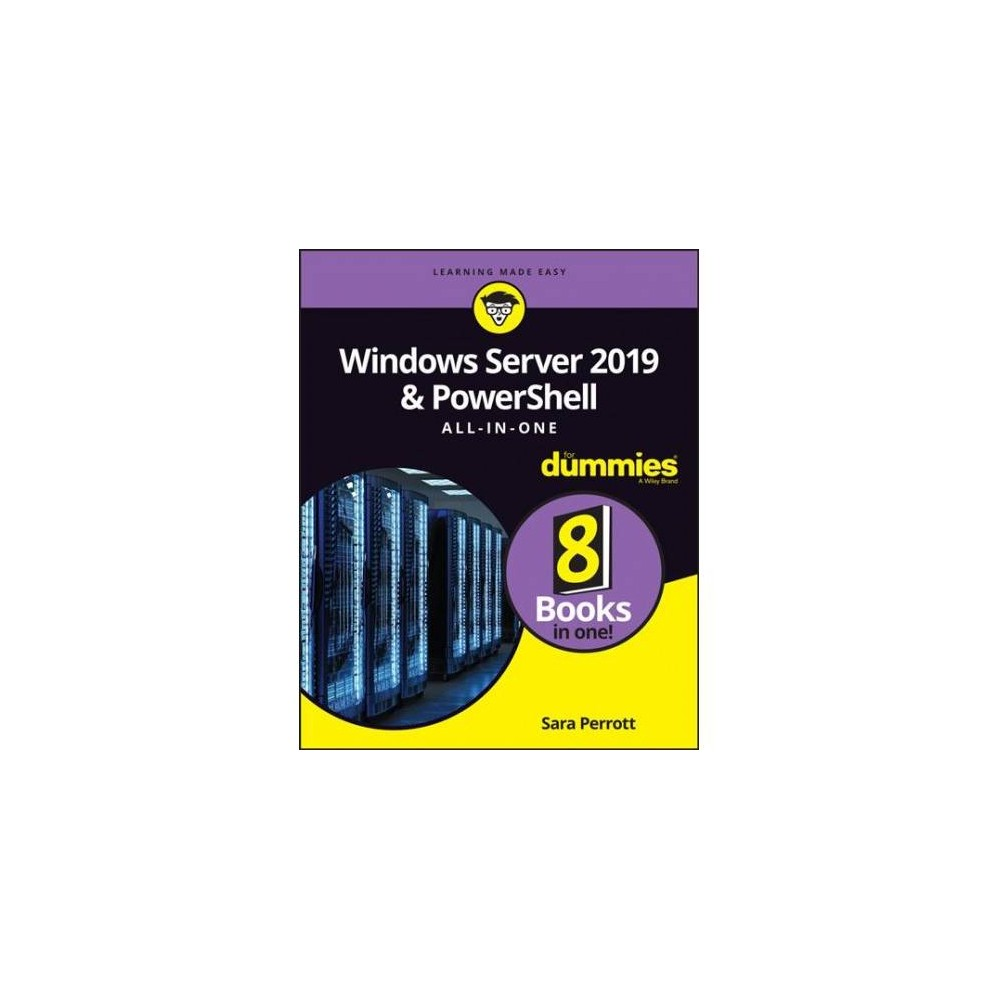 Windows Server & Powershell All-in-one for Dummies - (Paperback)