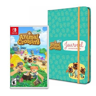 Animal Crossing: New Horizons – Nintendo Switch + Journal Bundle