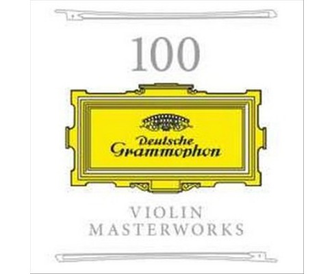 Various - 100 Violin Masterworks (CD) - image 1 of 1