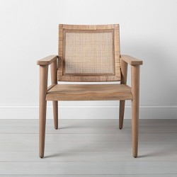 Wood & Cane Accent Chair - Hearth & Hand™ with Magnolia