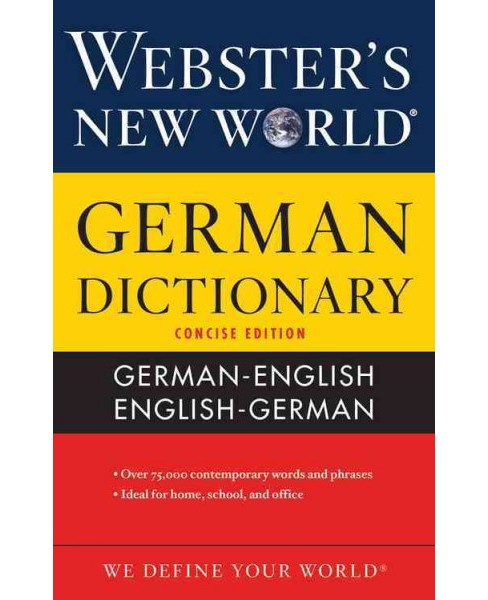 Webster's New World German Dictionary (Paperback) - image 1 of 1