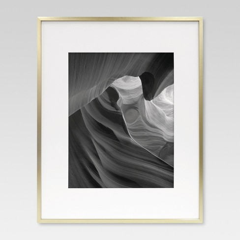 Metal Frame - Brass - Matted Photo - Project 62™ - image 1 of 4