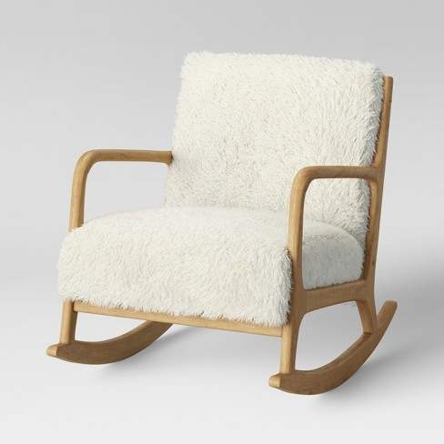 Esters Wood Arm Chair Sherpa Project 62 Target