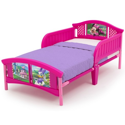 Minnie Mouse Plastic Toddler Bed - Disney - image 1 of 6
