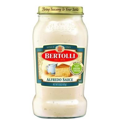 Bertolli Alfredo Sauce with Aged Parmesan Cheese - 15oz